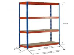 Heavy Duty Shelving Unit Dimensions