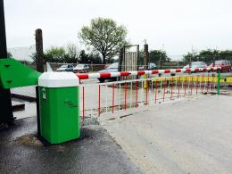 Heavy Duty Automatic Car Park Barrier
