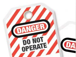 Heavy Duty Lockout Tags