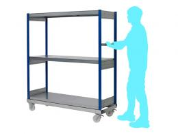 3 Warehouse Order Picking Trolley