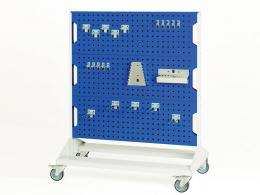 Mobile and Static Perfo Panel Racks