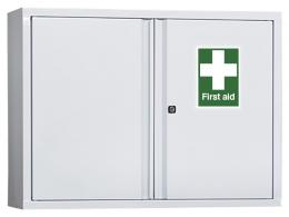 Industrial First Aid Wall Cabinet (600x800mm)