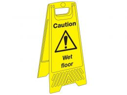 Janitorial Plastic Floor Signs