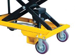 Budget scissor lifting equipment table