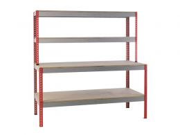 Just Workbench will additional shelving