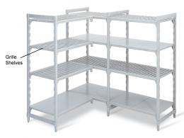 Steel Core Polypropolyne Shelving