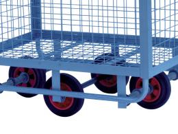 Openside Mesh Cart, light duty, allows cargo to be enclosed and kept safe