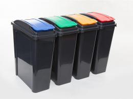 Lift Lid Office Recycle Bins