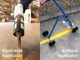 line marking equipment and hazard line paint