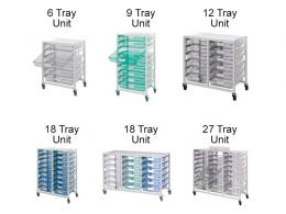 Medical Tray Storage System