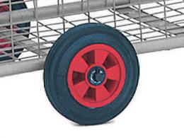 2x cushion wheels