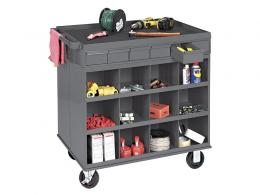 Mobile metal cabinets