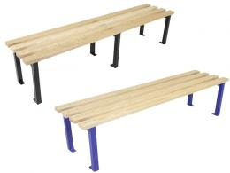 extra deep changing room benches
