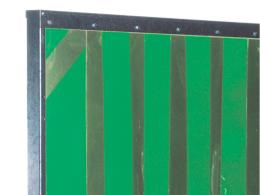 Opaque Green Welding PVC Screen