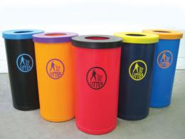 Outdoor Plastic Litter Bins