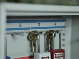 Safe Storage of Padlocks