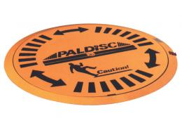 Pal-disk low profile pallet turntable
