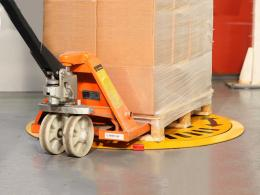 Pal Disk low profile pallet spinner