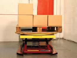 Pallet Pal Level Loader - automatic pallet levellers