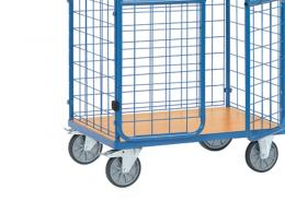 1500mm parcel cart with doors
