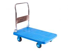Plastic Base Folding Trolley