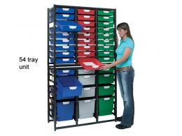 Plastic drawers rack