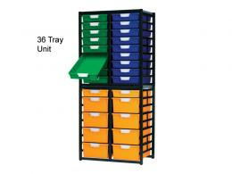 Plastic Container Rack Storage Trolley