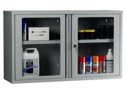 Polycarbonate Door Wall Fixing Cabinet with 1 Shelf
