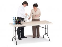 Polyfold Adjustable Height Table