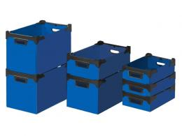 Flat Pack Stacking Boxes