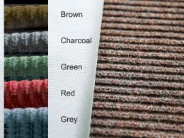 The range of colours this reception mat is available in