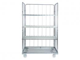 Rolling Wire Shelves