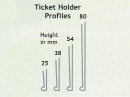 Self Adhesive and Magentic Ticket Holders