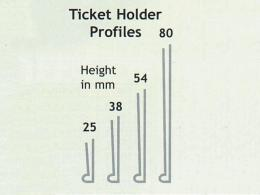 Self-Adhesive Ticket Holders