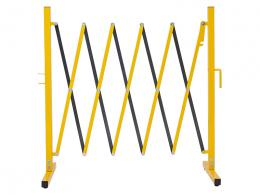 Small Expanding Safety Barrier for Warehouses