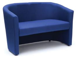 Sofa Tub Fabric Reception Seat
