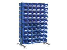 Spacemaster Double Sided Rack with 120 x Size 3 Bins