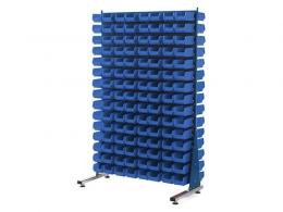 Spacemaster Double Sided Rack with 240 x Size 2 Bins