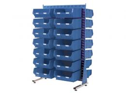 Spacemaster Double Sided Rack with 28 x Size 6 Bins