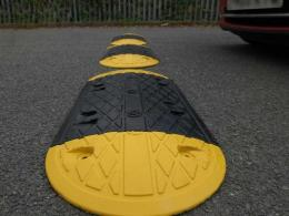 Rubber Speed-Ramps Oval 10mph