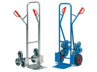 Heavy duty stair climber and sack truck