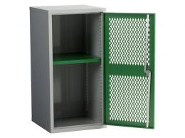 Steel Mesh Cabinet Single Door, 1 Shelf