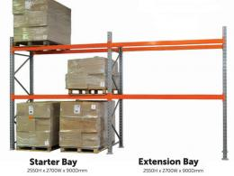 Stronglock Warehouse Racking starter and extension bays