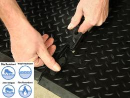 Heavy Duty Rubber PVC Mat
