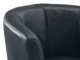Tub Seat Leather Reception Seat