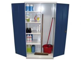 Steel utility cupboard