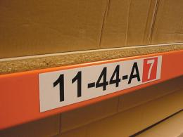 Warehouse Racking Labels