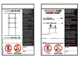Racking Weightload Signs