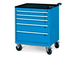 Wide 5 Drawer Mobile Cabinet