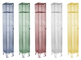 Wire Mesh Lockers